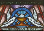 Doves Stained Glass