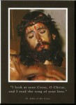 Face of Christ Crucified