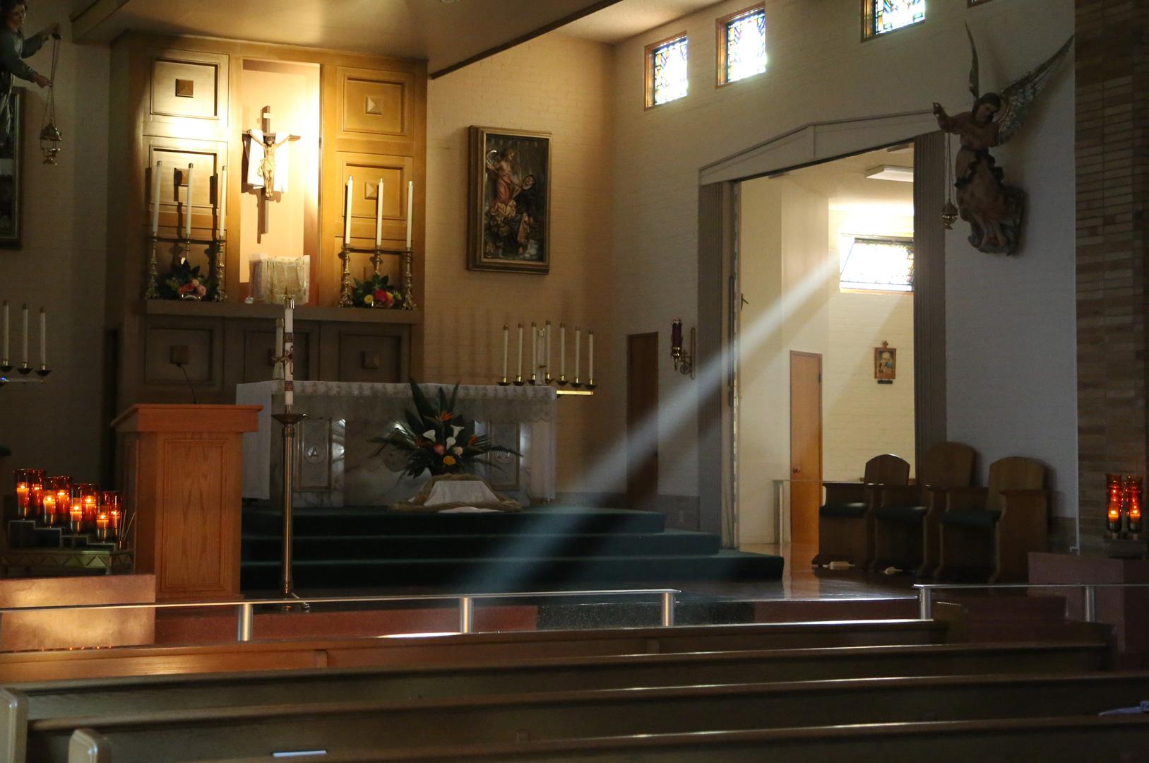 Chapel Sunlight