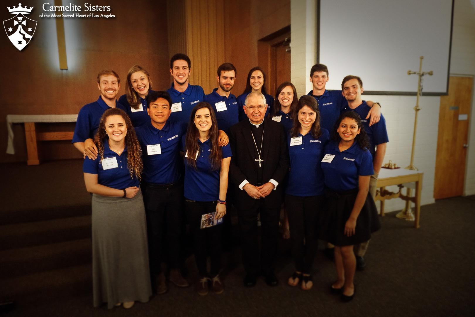 Archbishop Gomez and NET Ministries