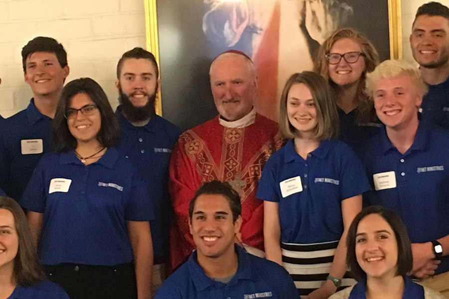 Sacred Heart Retreat House Welcomes NET Ministries